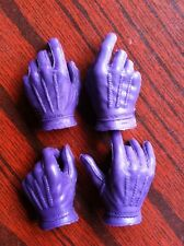 █ Custom Joker 1/6 Gloved Palms Hands for Hot Toys Body DX11 Suit Set █