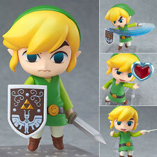 The Legend of Zelda Wind Waker Link 413 Action Figure Figurine No Box