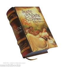 """Sueño de una noche  Verano William Shakespeare new collectible small 2.65"""" book"""