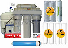5 Stage Home Drinking 50GPD Reverse Osmosis System RO Extra Set 4 Water Filters