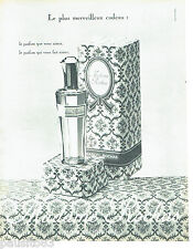 PUBLICITE ADVERTISING 056  1962  Rochas parfum  Madame