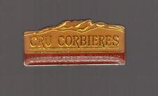 pin's boisson / Vin Cru Corbières (une autre nature)
