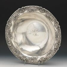 Rare French Empire .950 Silver Export Footed Centerpiece Bowl Auguste Turquet