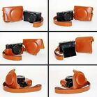 New Brown /Tan Leather Camera Case Bag For SONY Cyber Shot DSC RX10III RX100M3