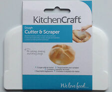 Kitchen Craft Dough Cutter & Scraper Lifter Bread Pastry Rolls Buns Baking New