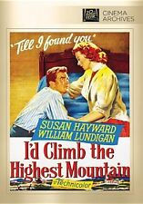 I'd Climb the Highest Mountain - Region Free DVD - Sealed
