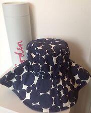 Nuevo Y En Caja Boden para mujer Sombrero de Sol Azul Spot