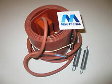 barrel Flexible silicone heater  230V 1500W Controlled Thermost nade in france!
