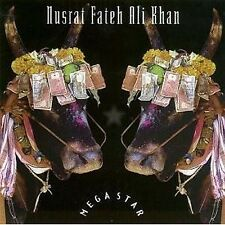 MEGASTAR - Nusrat Fateh Ali Khan .. CD ......... NEW