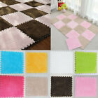 31*31cm Soft Anti-skid Carpet Flokati Shaggy Mat Rug Living Dining Bedroom Floor