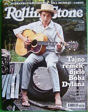BOB DYLAN-CROATIAN MUSIC MAGAZINE 2014+BILL MURRAY/STEPHEN KING/JIMMY PAGE