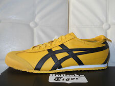 Onitsuka Tiger Mexico 66 scarpe uomo pelle giallo nero sneaker 43.5Eu  9.5US €95
