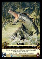 WORLD OF WARCRAFT WOW TCG RARE EXTENDED ART : DUNDEE EA X 4