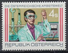 Österreich Austria 1988 ** Mi.1939 Arbeitswelt Chemiker Chemist