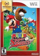 Mario Super Sluggers (Nintendo Selects Wii Video Baseball Official Product) NEW