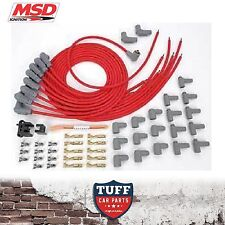 MSD 31239 V8 Universal Lead Set 90* Boot 8.5mm Super Conductor Spark Plug Leads
