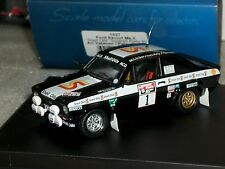 FORD ESCORT MK2 #1 SHELL OILS SCOTTISH RALLY 1982 A. VATANEN TROFEU 1027 1/43