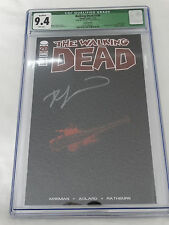 Walking Dead #100 Negan Lucille Retailer Edition Signed Kirkman Ltd 500 CGC 9.4