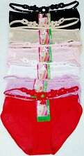 Pack of 6 pcs Lady's Sexy Mesh Bikini Panties Lot New #LB316 Size: XL