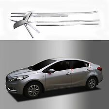 Chrome Door Window Sill Belt Molding Trim Cover for 14+ Forte Cerato K3 4DR