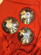 "Chevrolet Corvair Hubcap 9""  Dog Dish Poverty Hub Caps"