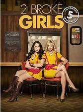 2 Broke Girls: The Complete Fifth Season (DVD, 2016, 3-Disc Set)