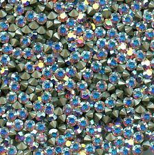 1028 PP28 CI***40 strass Swarovski fond conique 3,55mm CRYSTAL AB  F