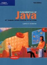 Fundamentals of Java: AP* Computer Science Essentials for the A Exam, Third Edit