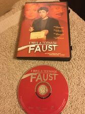 I Was a Teenage Faust DVD Region 1 Rare Free Shipping!!!!