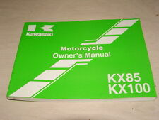 Kawasaki Owners Manual 2005 KX85 KX100 KX85-A5 KX100-D5 99987-1238