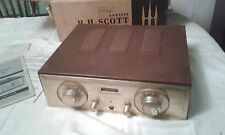 Vintage 1960 H H Scott 330-D Stereo Tuner In Case & Original Box With Manuals