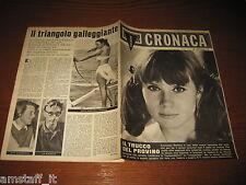 RIVISTA DETECTIVE CRONACA=1961/48=COVER FRANCOISE DORLEAC=DELITTO BELLUNO=