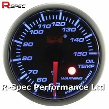 52mm Blue Stepper Motor Warning Oil Temperature Temp Gauge With Warning Light