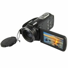 "Ordro HDV-Z20 1080P Microphone Video Camera 3.0"" Touch Screen 16x Zoom 8MP HDMI"