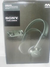 Brand New Sony MDR-IF245RK Wireless Headphone Infrared Stereo Headphone Black
