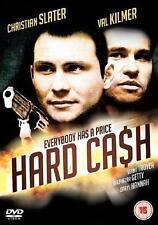 HARD CASH Christian Slater*Val Kilmer*Daryl Hannah Action Thriller DVD *NEW*