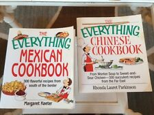 The Everything Mexican Cookbook and The Everything Chinese Cookbook - set/2