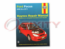 Ford Focus Haynes Repair Manual SVT SE ZX4 LX S2 Street SES SEL ZX3 Sony re