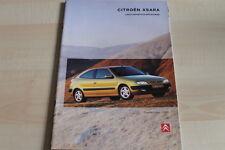 93888) Citroen Xsara + Break + Coupe Prospekt 09/1998