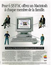 Publicité Advertising 1994 Ordinateur Performa Macintosh par Apple