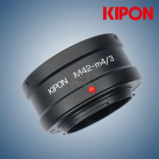 New Kipon adapter for M42 mount lens to micro 4/3 M4/3 camera  Olympus/Panasonic
