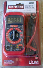 New Craftsman 34-82141 Digital Multimeter with 8 Functions and 20 Ranges  NEW