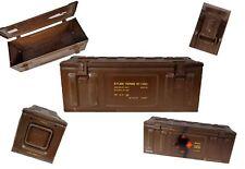 Munición británica caja pmd 238 marrón usado baúl lagerbox