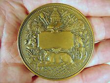 Médaille bronze 55 mm Société des agriculteurs de France par C Trotin poinçons