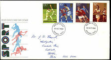 GB FDC 1980 Sport, Stevenage FDI #C37407