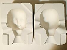 Ceramic Doll Mold, Expressions Emily Head E200 1991