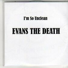 (DB183) Evans The Death, I'm So Unclean - 2011 DJ CD