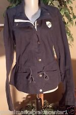 Abercrombie & Fitch Women's Navy Blue Jacket Coat Top Medium Hollister NEW