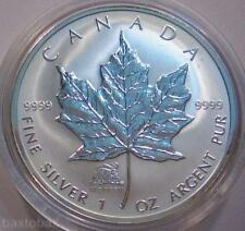 2004 *MONKEY PRIVY* CANADA MAPLE LEAF 1 oz. SILVER $5 COIN *BU* ~ Only 25,000~