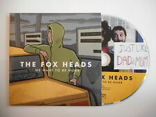 THE FOX HEADS : WE WANT TO BE NUMB [ CD ALBUM PROMO PORT GRATUIT ]
